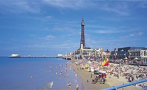 Beeches Guest House in Blackpool Centrally Located only 2 minutes
